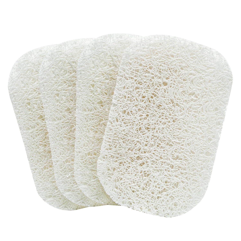 S&T Inc. 596201 Soap Saver, White, 4pk