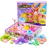 New Moving Sand with 6 Sealife Moulds Child Kids Sand Sculpture Kit