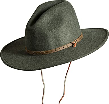 9e146ce115d Men s Lonesome Trail Crushable Wool Stetson Hat