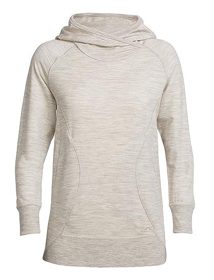 half off e752f b8834 Icebreaker Merino Women's Dia Pullover Hoodie, Merino Wool