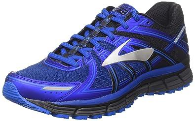 fe8b5bf8c11ab Brooks Men s Adrenaline ASR 14 Black Ebony Lapis Blue 8.5 ...