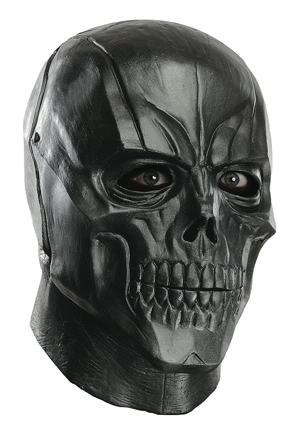 Rubie's Costume Men's Arkham City Adult Deluxe Overhead Latex Black Mask Multi One Size Rubies Costumes - Apparel 68523