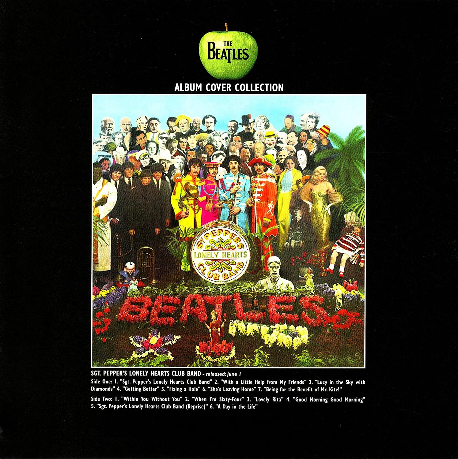 The Beatles Greeting Birthday Any Occasion Card Sgt Peppers