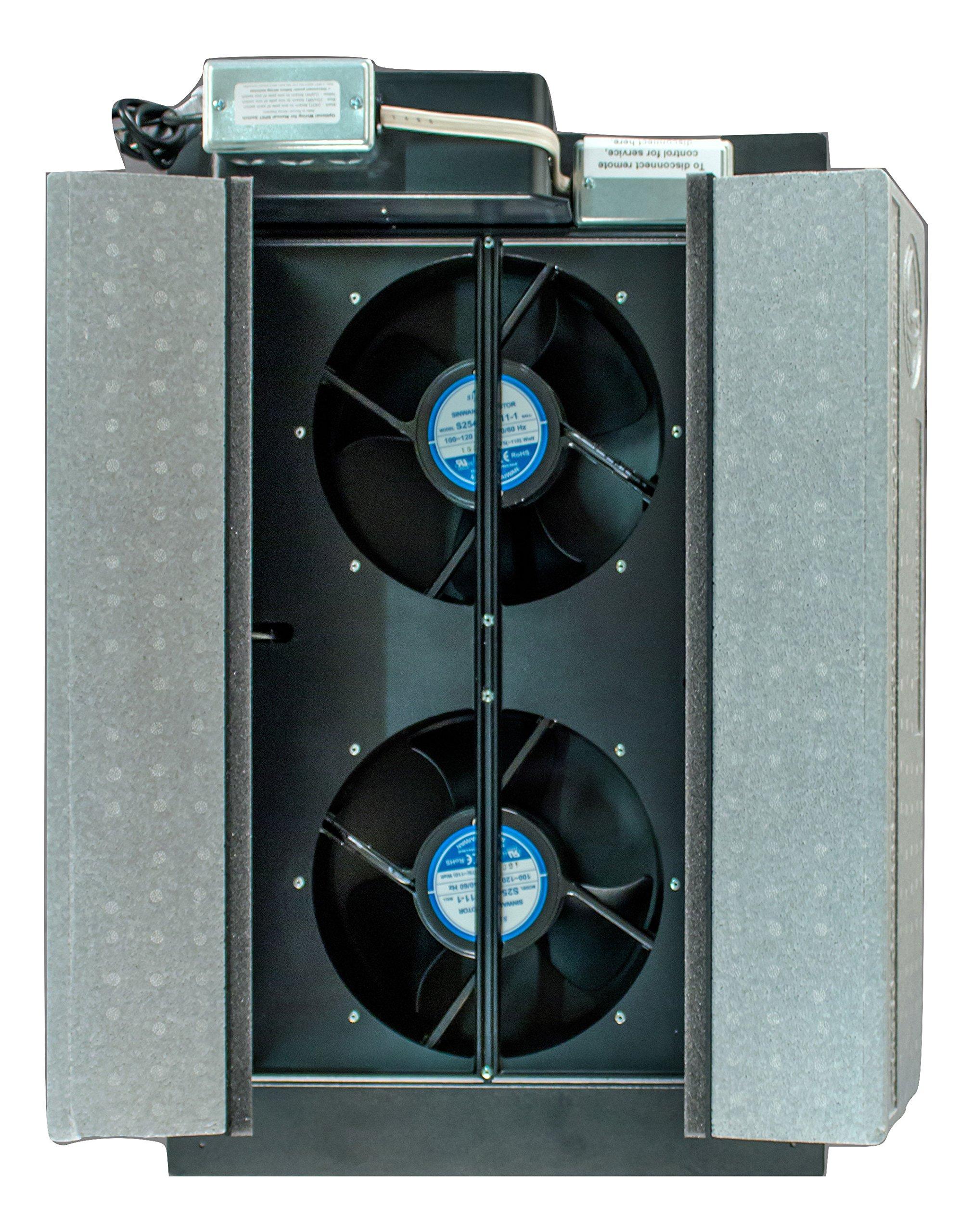 HV1600 Whole House Fan R38 Insulation