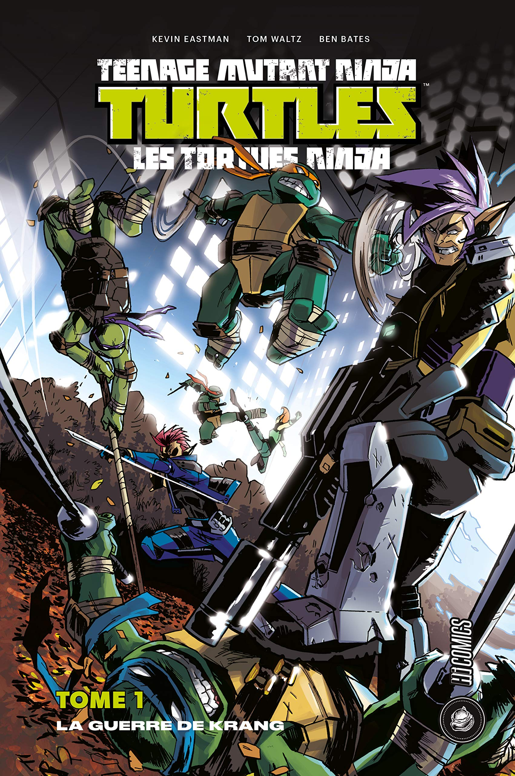 Teenage Mutant Ninja Turtles - Les tortues ninja, Tome 1 ...