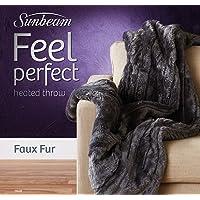 Sunbeam Faux Fur Throw 1 pc