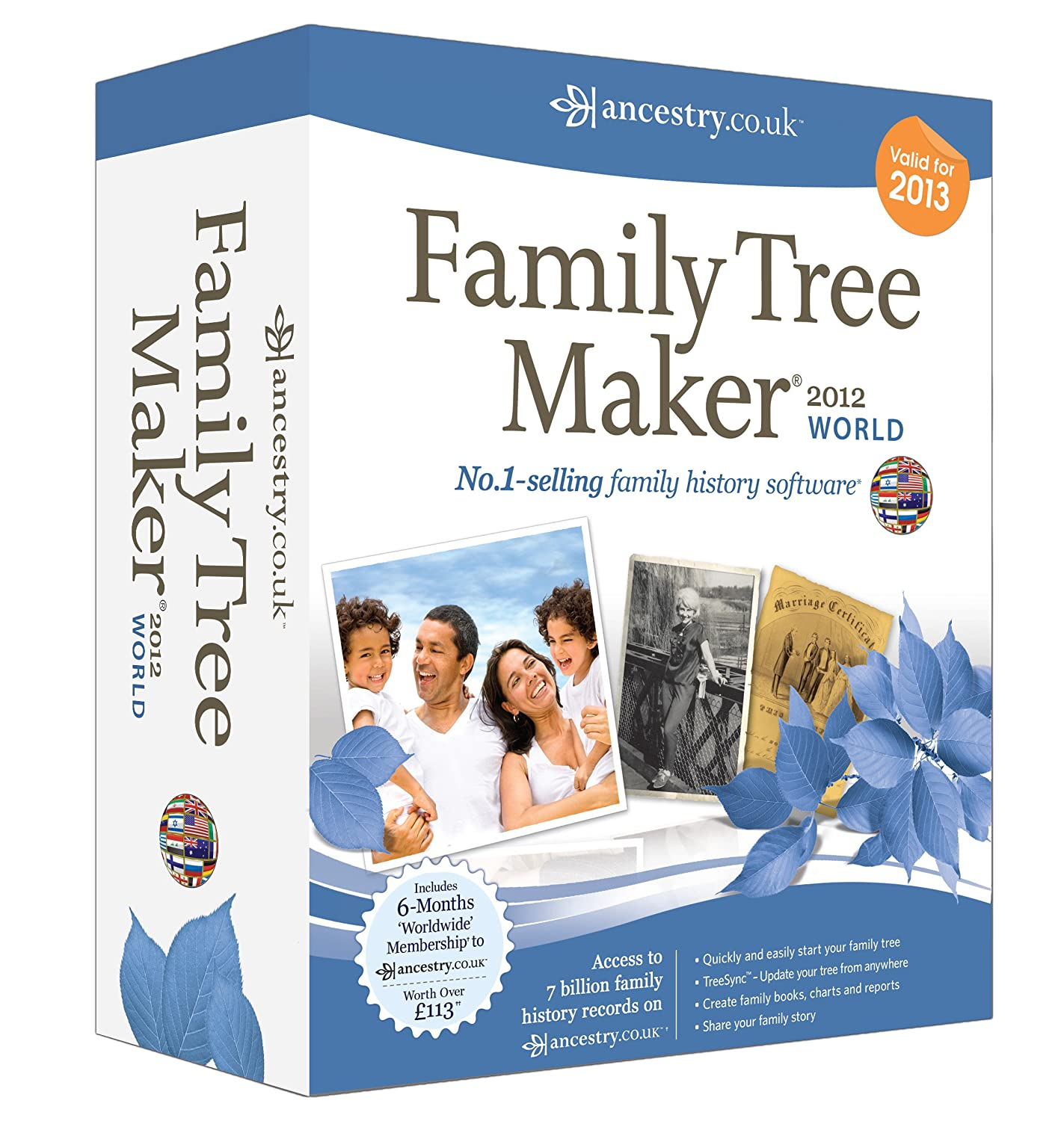 Software to make a family history book