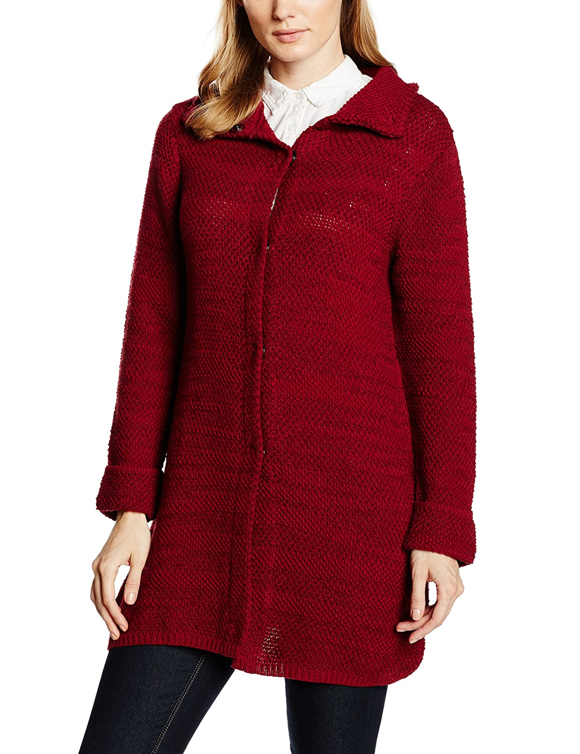 Olsen Damen Strickjacke Cardigan Long Sleeves
