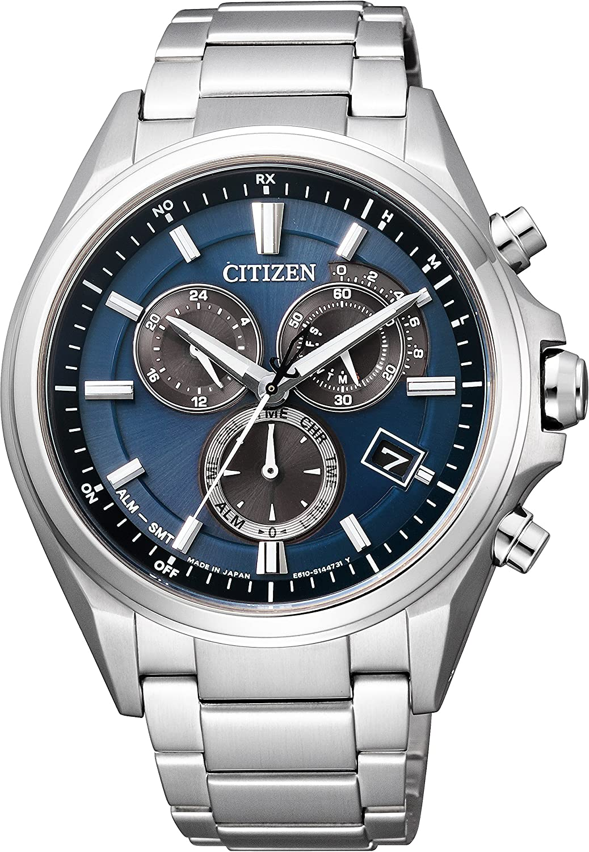 [シチズン]CITIZEN 腕時計 ATTESA アテッサ エコドライブ電波時計 クロノグラフ AT3050-51L メンズ B019IGIPM6
