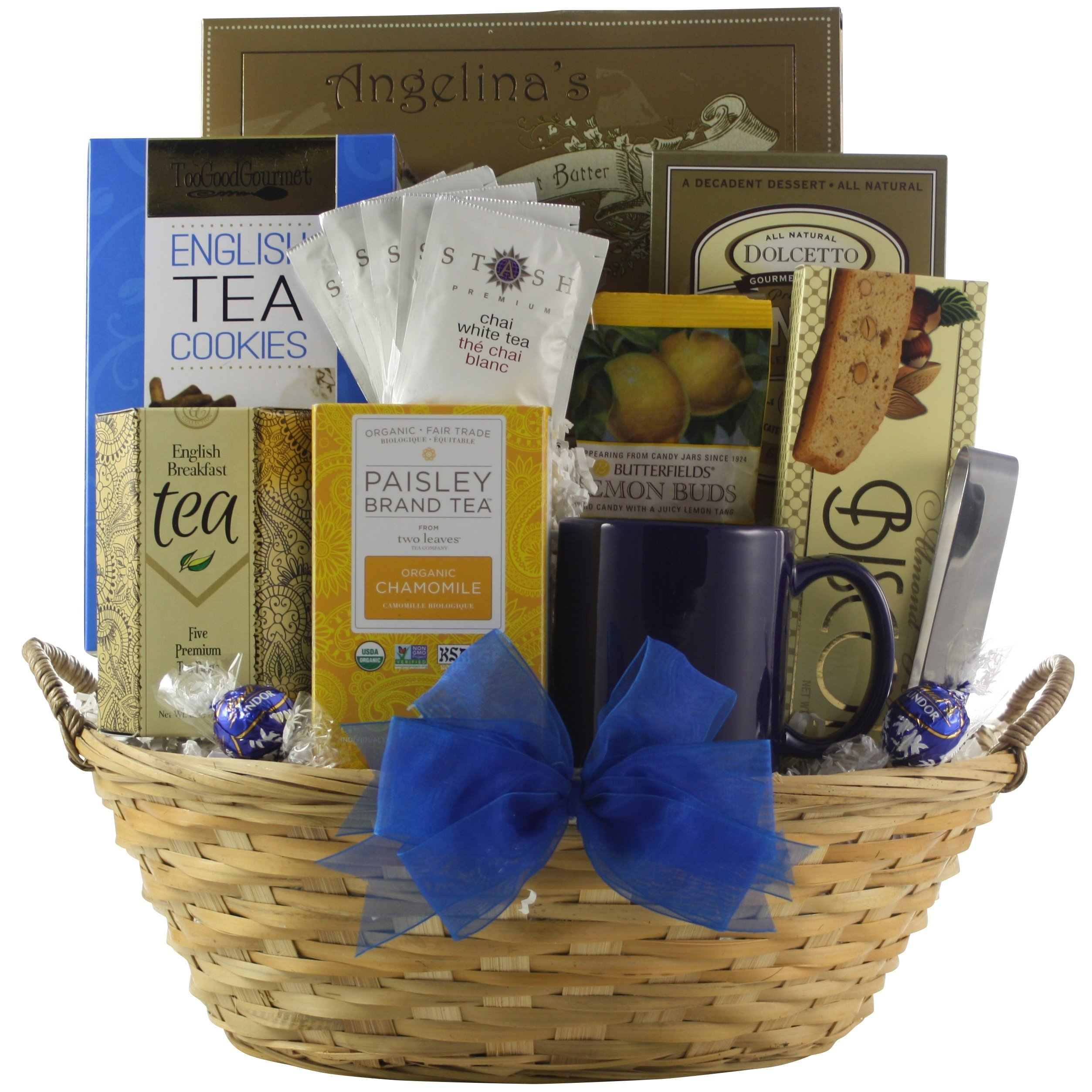 GreatArrivals Connoisseur Gourmet Tea Gift Basket
