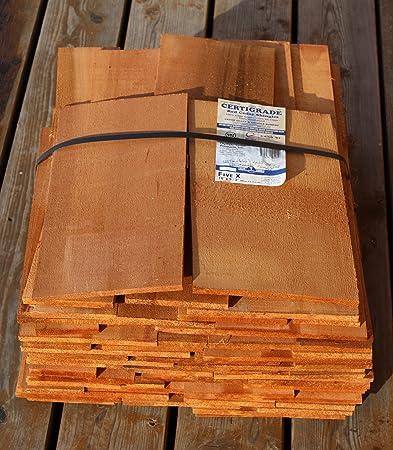 Legno di Cedro Rosso chindeln gesaegt 40 cm, 1. qualità 18,2 ...
