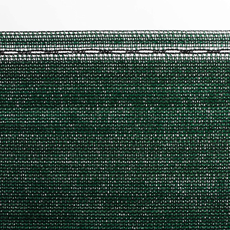 Windschutz casa pura/® Zaunblende 1m x 20m Maschendrahtzaun Schattiernetz Tennisblende gr/ün Fachhandel-Qualit/ät viele Gr/ö/ßen Garten f/ür Sportplatz effektiver Sichtschutz
