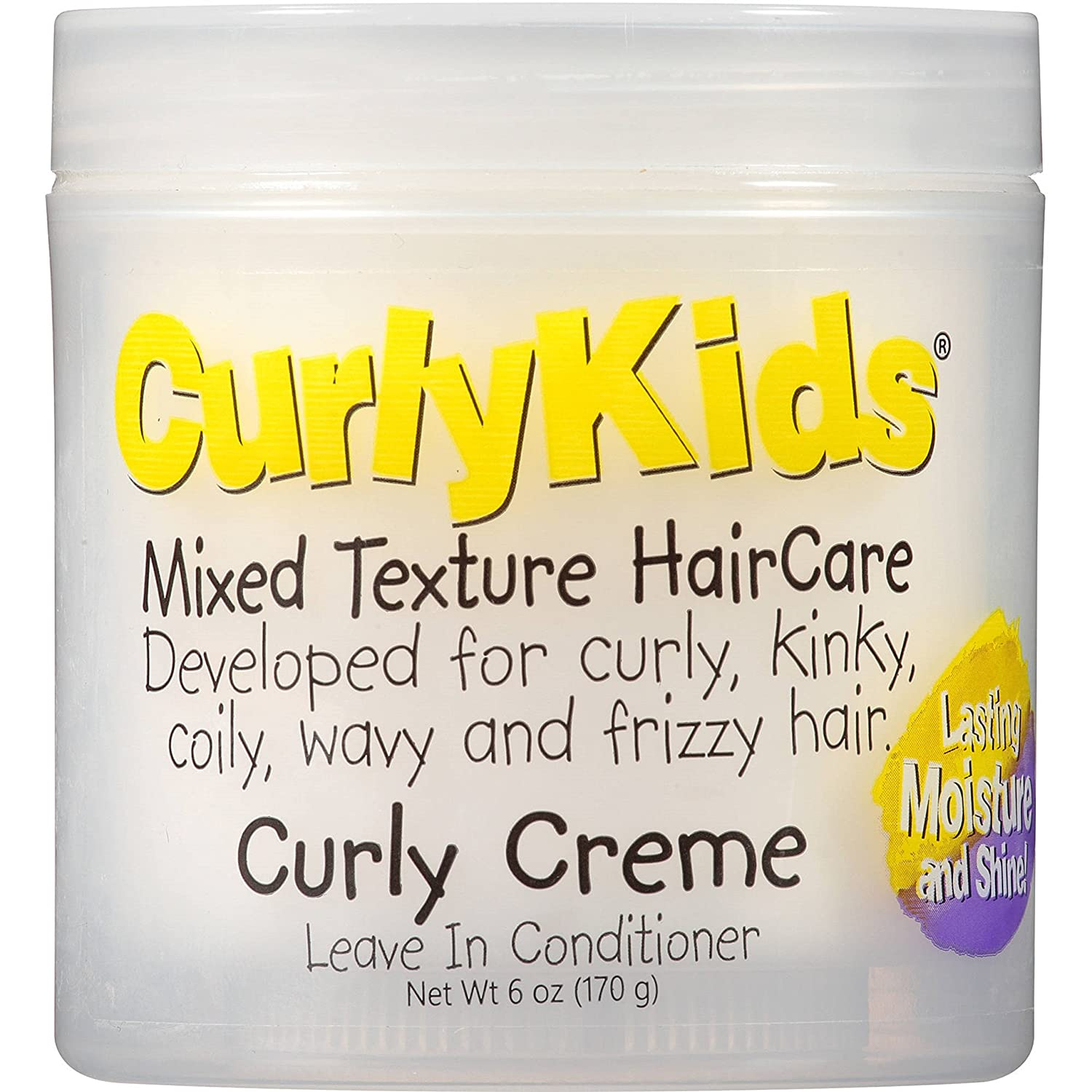 CurlyKids Mixed HairCare Curly Creme Conditioner 6oz by CurlyKids