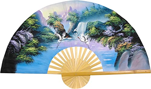 Oriental Furniture Fantasy Valley Fan – 60