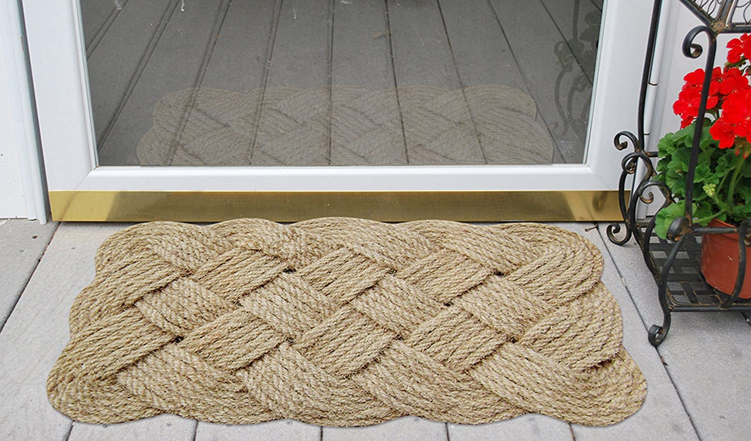 Natural Nedia 12102  Lovers Knot 36 x 22 Mat