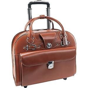 c65761578e55 Amazon.com: McKlein, L Series, Davis, Top Grain Cowhide Leather with ...