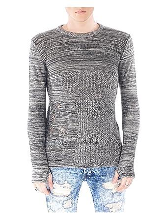5e8a6b3671c Amazon.com  Project X Paris Distressed Lightweight Sweater 88167703 ...