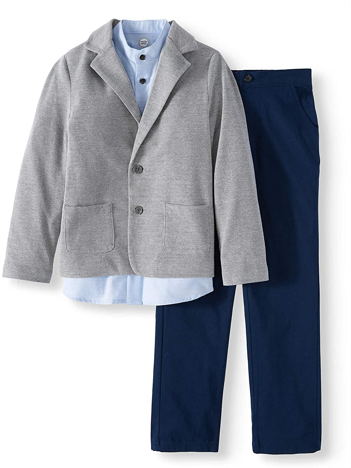 Boys 3 Piece Dressy Sportswear Set