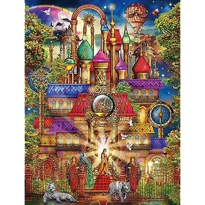 Buffalo Games - Majestic Castles - Magic Castle - 750 Piece Jigsaw Puzzle: Toys & Games