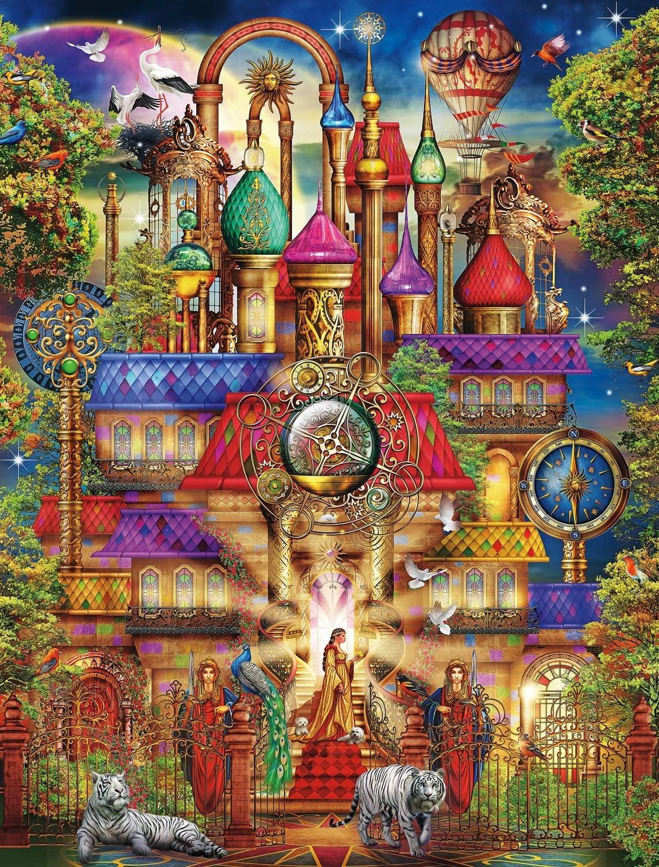 Buffalo Games - Majestic Castles - Magic Castle - 750 Piece Jigsaw Puzzle