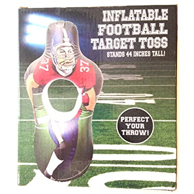 Five Below Inflatable Football Target Toss 44 Inches Tall: Toys & Games
