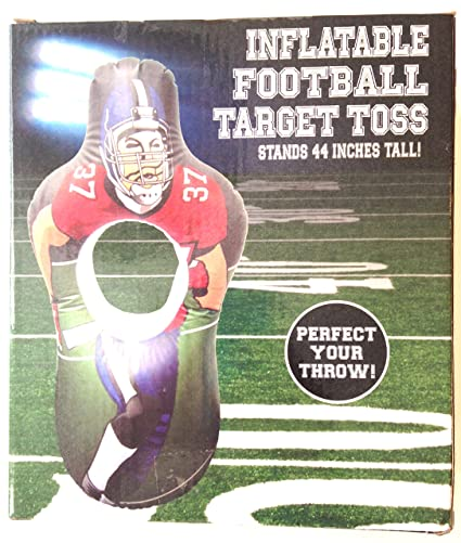 Amazon.com  Five Below Inflatable Football Target Toss 44 Inches ... 3d4535c16