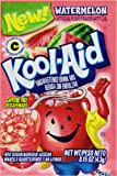Kool-Aid Flavored Drink Mix, Unsweetened Watermelon, 0.15 Ounce Packets (Pack of 48)
