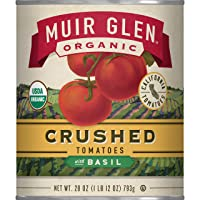 Deals on 12-Pack Muir Glen Canned Tomatoes Organic Crushed Tomatoes 28 Oz