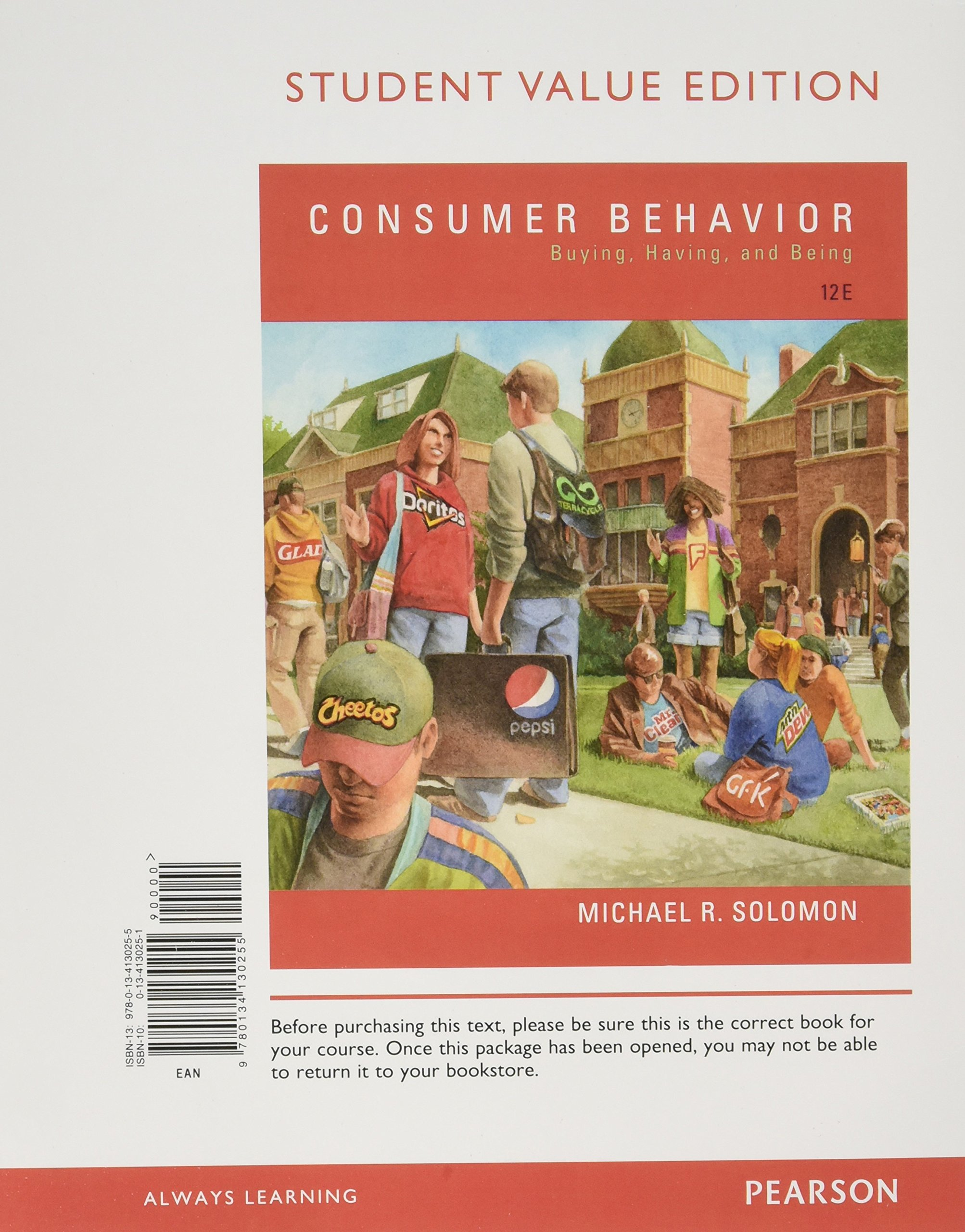Buy Consumer Behavior: Buying, Having, and Being, Student Value Edition  Book Online at Low Prices in India | Consumer Behavior: Buying, Having, and  Being, ...
