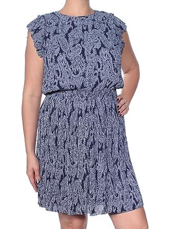 04f1e64d2de Michael Kors Women s Samara Paisley Pleat Dress at Amazon Women s Clothing  store