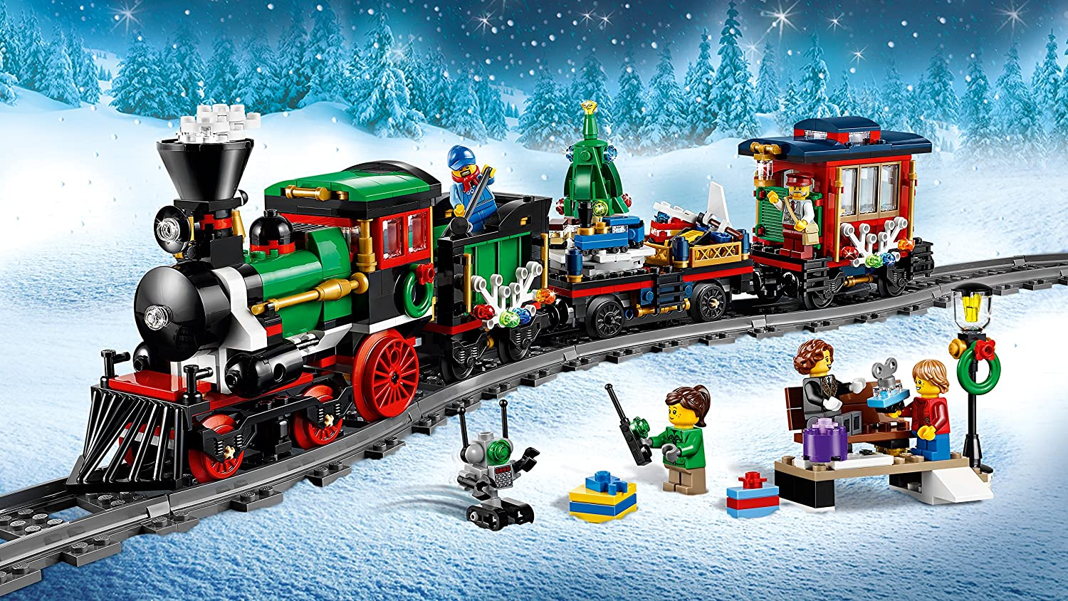 Lego Winter Holiday Train 10254