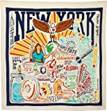 """Primitives by Kathy 28"""" Dish Towel New York"""