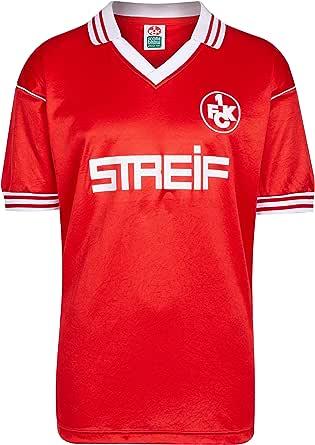 Scoredraw - Camiseta retro para hombre, FC Kaiserslautern - Camiseta oficial del equipo FC Kaiserslautern 1980/81: Amazon.es: Ropa y accesorios