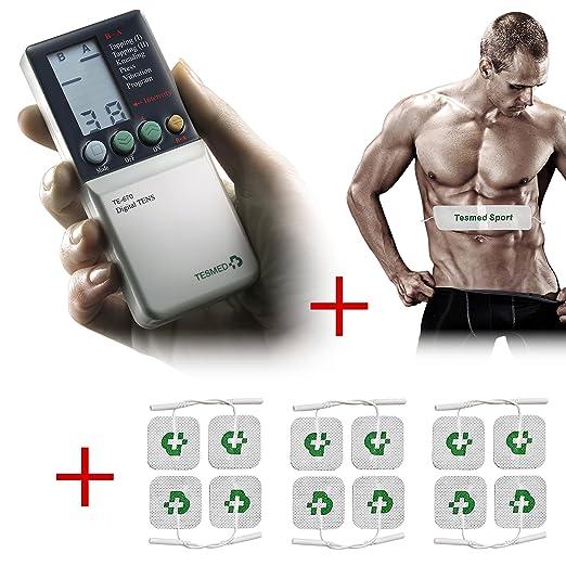 7 opinioni per Elettrostimolatore muscolare Tesmed per tutto il corpo TE670 FORMULA SPORT : +