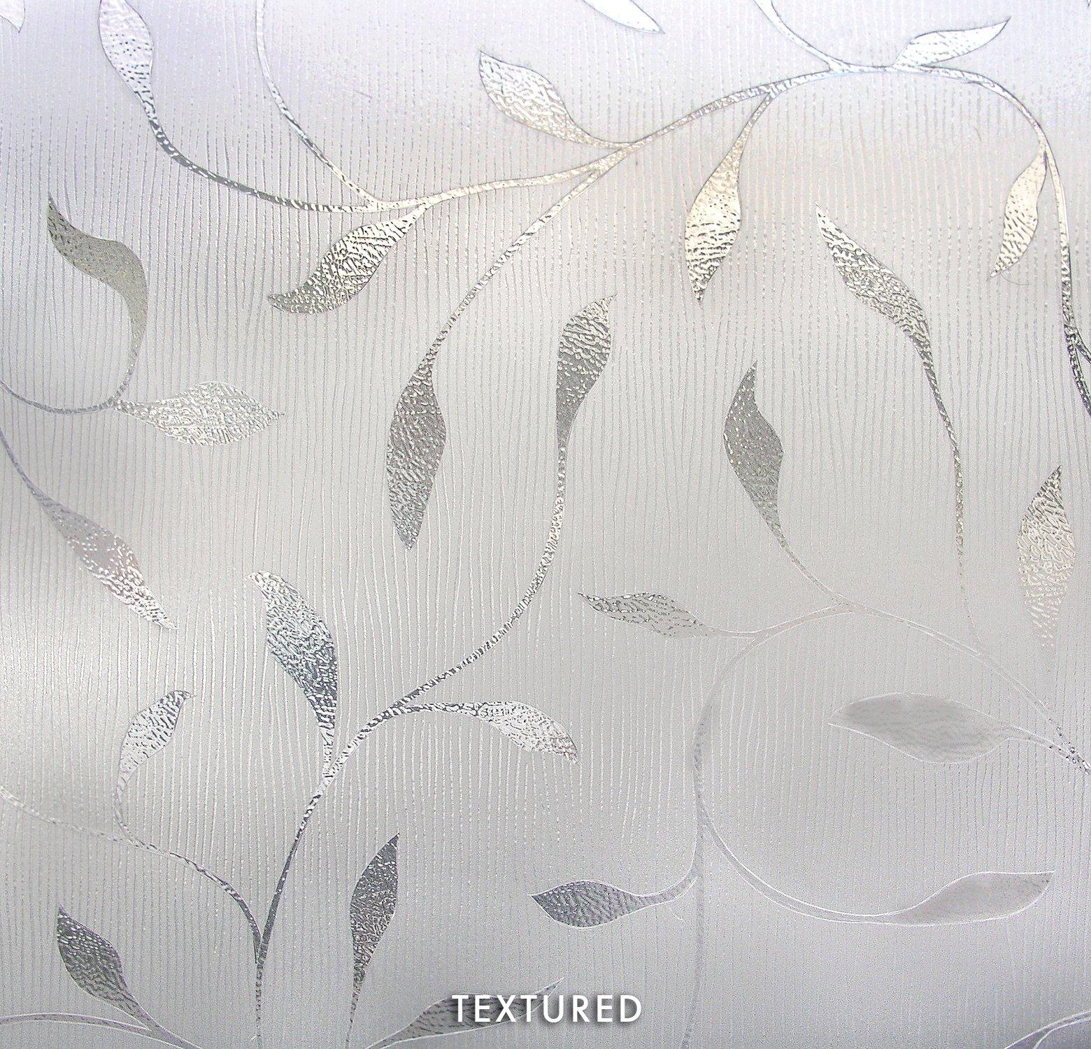 ARTSCAPE Etched Leaf Sidelight Window Film 12'' x 83'' by ARTSCAPE (Image #2)
