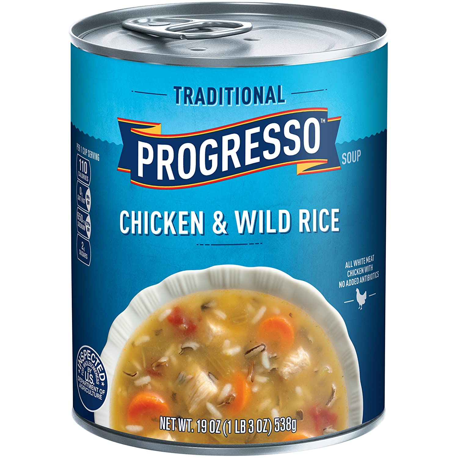 Amazon.com: Progresso Soup, Traditional, Chicken and Wild Rice Soup ...
