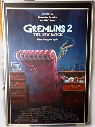 Gremlins 2 The New Batch Original Single Sided 27x41 Movie