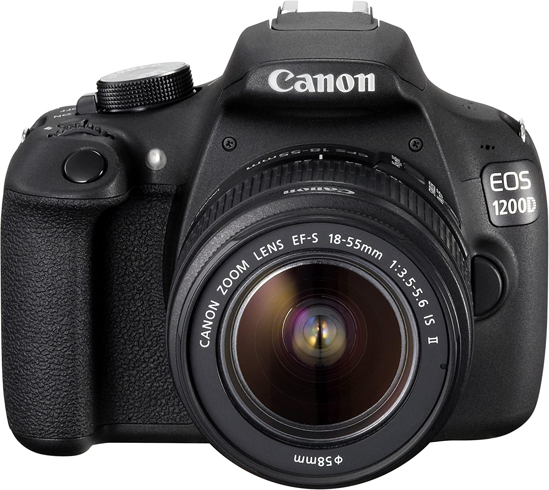 Canon EOS 1200D - Cámara réflex digital de 18 Mp (pantalla 3 ...