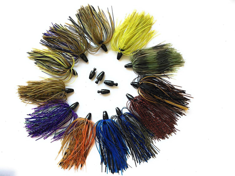 超人気の wtrees Best Punch Fishing Bassジグキット Jigs Bassジグキット B07FPD58S3 Punch Skirt Kit 1 Bass Jigs, ムツシ:59ca6ceb --- a0267596.xsph.ru
