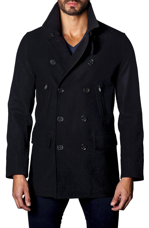 ヤレドラング メンズ ジャケットブルゾン Jared Lang Double-Breasted Coat [並行輸入品] B07DJ83BR8 X-Large