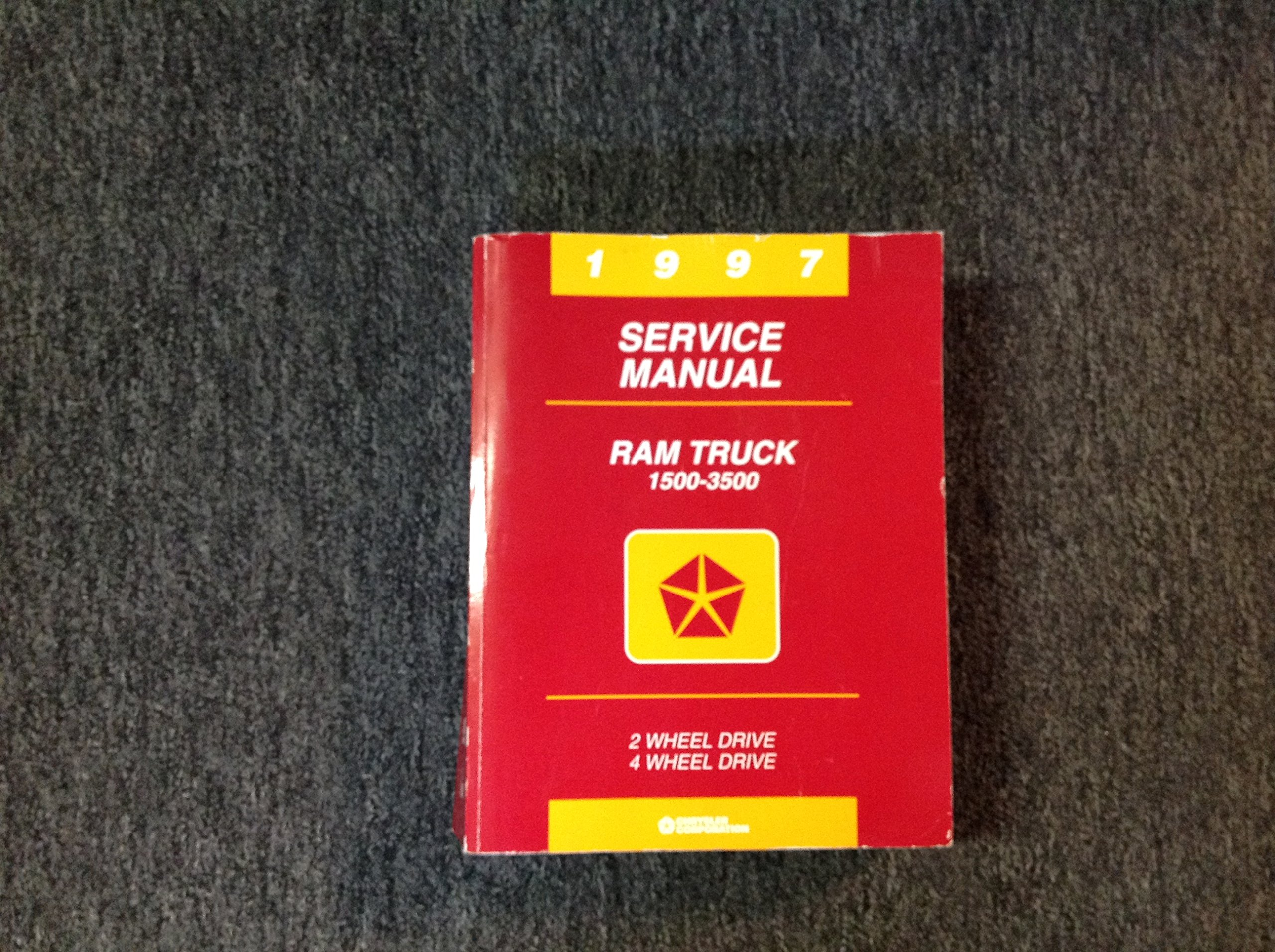 1997 Dodge Ram Truck Repair Shop Manual Original 1500-2500-3500: Dodge:  Amazon.com: Books