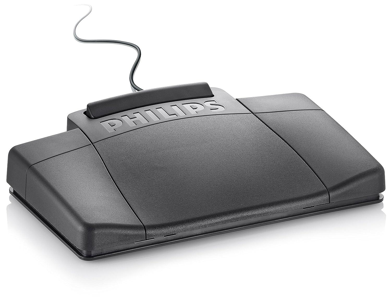 anthrazit und Wiedergabe Set Mini-Kassette Philips LFH0064 Pocket Memo Diktier