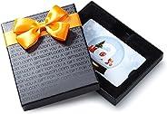 Amazon.com Gift Card in a Black Gift Box (Holiday Globe Card Design)