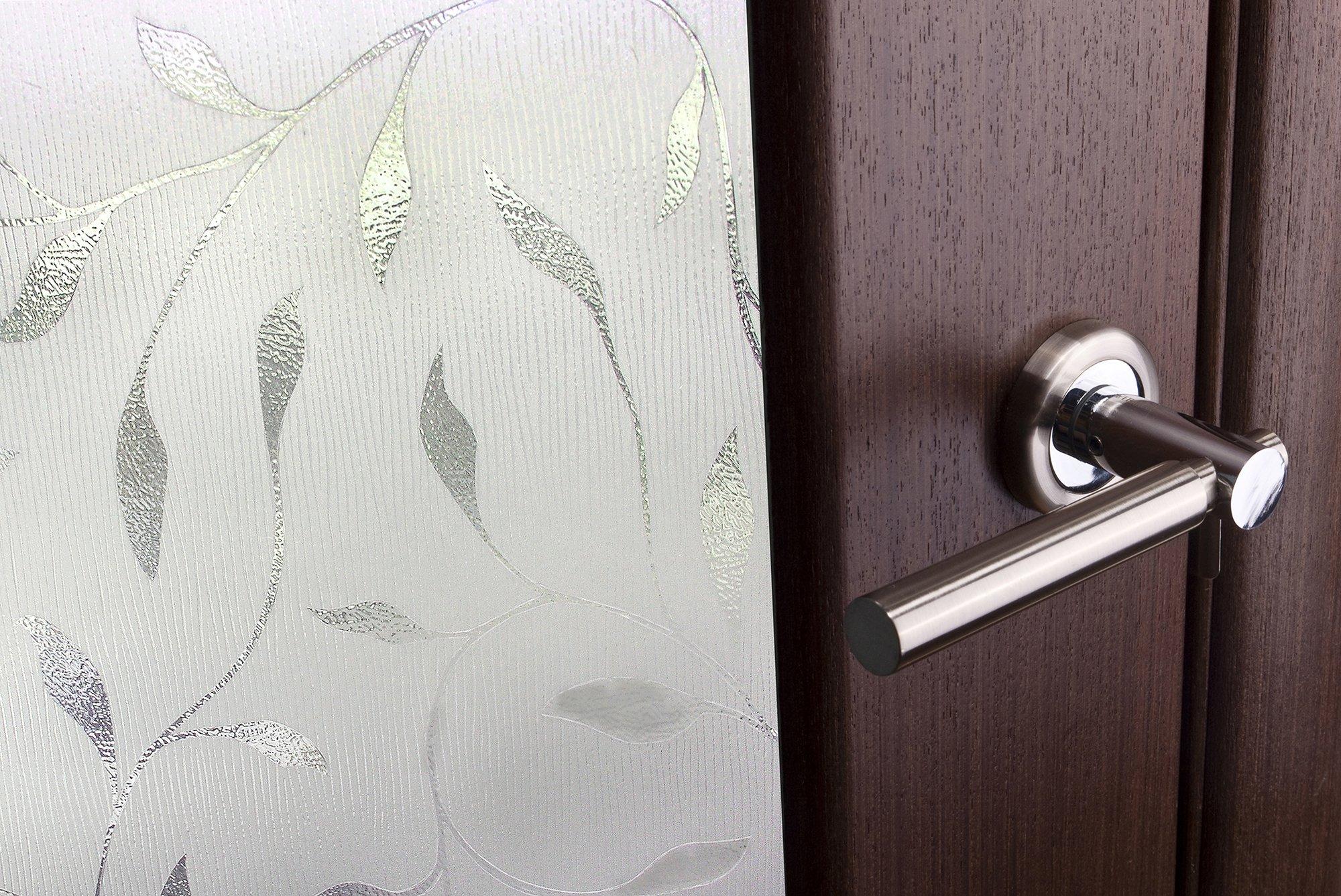 ARTSCAPE Etched Leaf Sidelight Window Film 12'' x 83'' by ARTSCAPE (Image #3)
