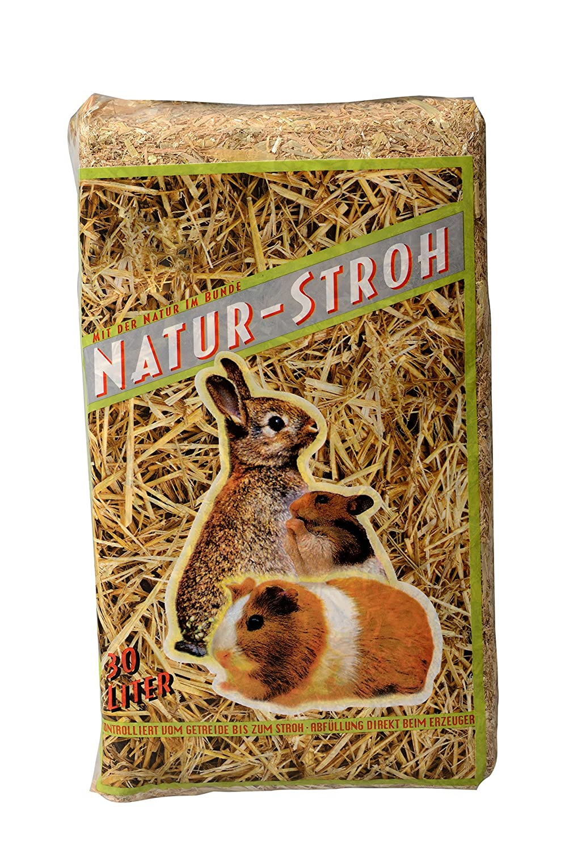 Bubimex Paille Naturelle pour Petit Animal 30 L - Lot de 3 2072