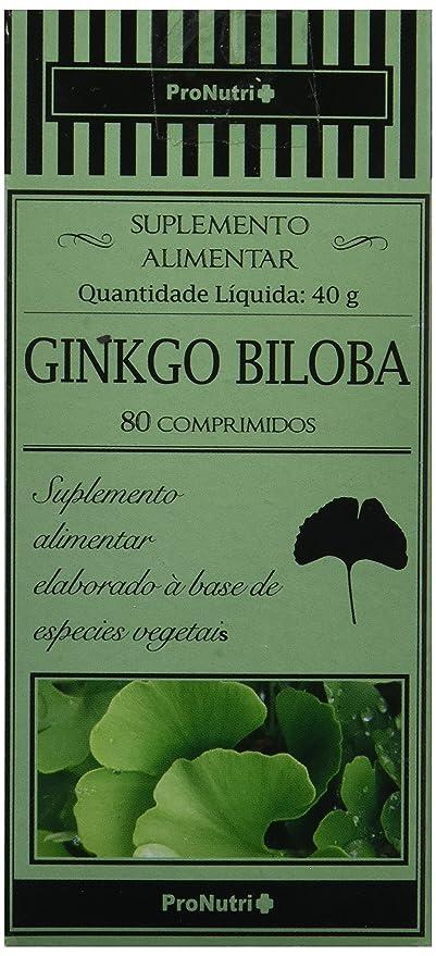 PRONUTRI - PRONUTRI Ginkgo Biloba 80 comprimidos: Amazon.es: Salud y cuidado personal