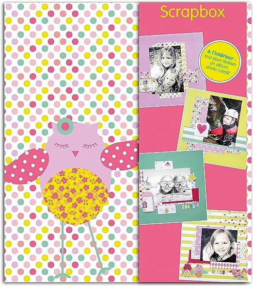 Toga KT68 Jolies búhos Kit Scrapbook Papel 23,0 x 26,0 x 5,5 cm, Multicolor: Amazon.es: Hogar