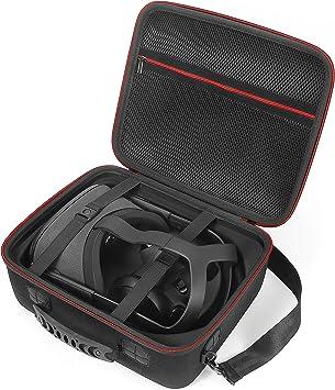 Estuche rígido para Oculus Quest All-in-One VR Gaming Headset y Sus Accesorios, Bolsa de Viaje de Almacenamiento de protección.: Amazon.es: Electrónica