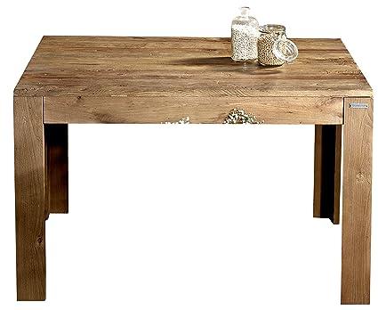Tavolo da Pranzo in Legno di Olmo Eucalipto Tavolo ...