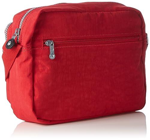Alvar Damen Umhängetaschen 33x26x4.5 cm (B x H x T), Rot (35J Vibrant Red) Kipling